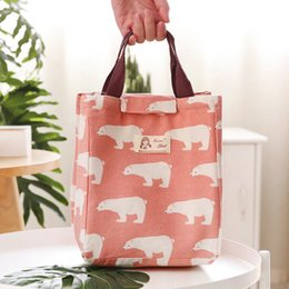 Lunch Box termica isolata Borsa tote animale cooler Bento Pouch Lunch Container box Container all'ingrosso
