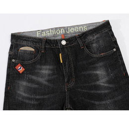 Wholesale business casual jeans men for sale – denim Men s Jeans Mens Black Jeans Slim Fit Stretch Denim Casual Quality Pants Business Trousers For Man Boys Jean Homme Size