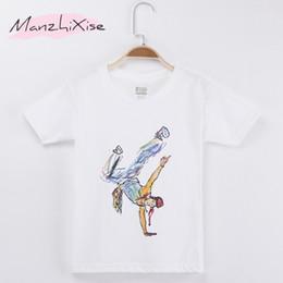 $enCountryForm.capitalKeyWord NZ - 2018 Children T-shirt Hiphop Hand Drawn Illustration Top Cotton Child Shirt Kids Short T Shirts For Girl Boy Clothing Baby Teens Clothes