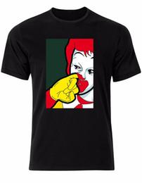 $enCountryForm.capitalKeyWord Canada - Ronald Mcdonald Nose Picking Clown Parody Funny Pop Art Mens Tshirt Tee Top AL73 Cartoon t shirt men Unisex New Fashion tshirt