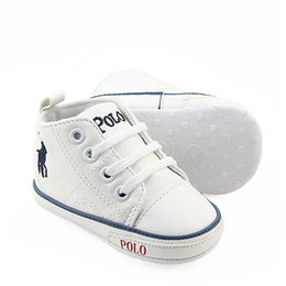 Girls Shoes Unisex UK - Casual Baby Shoes Soft Sole PU Leather Newborn Boys Girls First Walker Shoes Infant Shoes