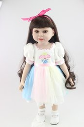 Gifts for year Girl online shopping - 18 inch Girl Doll Bebe Reborn Toys Birthday Gift for American Valentine s Day Dolls Brinquedos Meninas Birthday Gift Juguetes