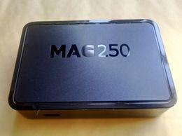 Großhandel 2019 neue Firmware R23 Linux-System MAG250 MAG245 mit WLAN-Karte Iptv-Box Set-Top-Boxen Freier DHL