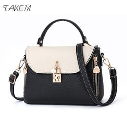 $enCountryForm.capitalKeyWord NZ - TAKEM NEW 2018 Beautiful Lock Luxury Handbags Women Bags Design Crossbody Bags for Women Women's Bandbags Ladies Bolsos Mujer