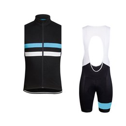 Cycling Clothing Sets UK - RAPHA team Cycling Sleeveless jersey Vest bib shorts sets Quick-Dry Bike thin Strap summer bike clothes mens Sportwear C61278