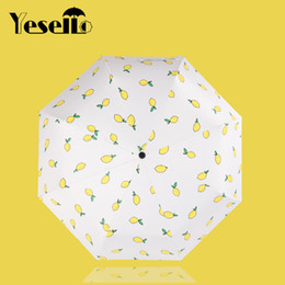 $enCountryForm.capitalKeyWord Canada - Yesello Cute lemon Banana folding Sunny and Rainy Umbrella