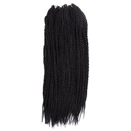 African American Hair Wholesale Australia - Silky Strands African American Crochet Hair Crochet Braids Hair Extensions Ombre Kanekalon Braiding Hair Synthetic Pure Color