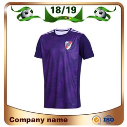 Discount river plate jerseys - 2019 River Plate Soccer Jersey 18 19 River Plate away Violet Soccer Shirt riverbed G.MARTINEZ QUINTERO Customized footba
