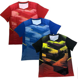 f26308810 Custom name and number,New 2018 Li-Ning badminton T-Shirt clothes,Polyester  table tennis clothing,Breathable Quick-dry Sport tennis for men