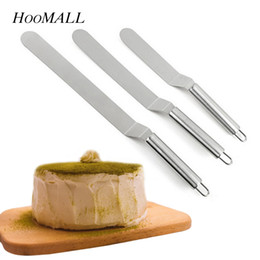 $enCountryForm.capitalKeyWord NZ - Hoomall 6 8 10 Inches Cake Butter Stainless Steel Cream Spatula For Cake DIY Kitchen Baking & Pastry Tools Decorating Tools