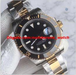 luxury swiss automatic watches men 2019 - Luxury Watch Top Quality V3 Version Two-Tone 18K Gold 116613 Ceramic Bezel Swiss Eta 2836 Movement Automatic Date Men Di