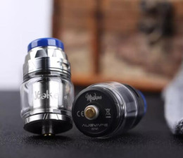 authentic vapes NZ - Authentic Augvape Intake RTA Atomizer 4.2ml Capaticy 24MM single coil RDA tank designed by Augvape and Mike Vapes 100% original