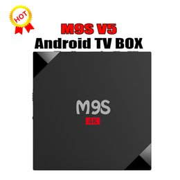 Internet Tv Android Canada - RK3229 M9S V5 Android TV Box 4K HDR H.265 HEVC media player 1GB 8GB Internet TV Box