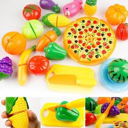 $enCountryForm.capitalKeyWord Australia - 24Pcs Set Kitchen Pretend Play Toys Vegetable Fruits Children Early Education Set Favor Supplies Kids Classic Toys Brinquedos