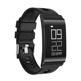 thinnest smart watches 2019 - Ultra-thin Smart Wristband Fashion Waterproof Fitness Watch Intelligent Wristband Lightweight With Heart Rate Monitor ch