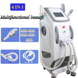 Switch diode online shopping - shr hair removal machine Radio Frequency IPL vascular therapy painless laesr hair removal q switch nd yag laser