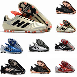 2018 Best Quality Leather Low Soccer Shoes Copa 17.1 FG Football Boots Mens  Outdoor Copa Mundial Soccer Cleats White Gold Black Champagne copa soccer  shoes ... 7c3fe6e82