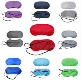 Wholesale 1 Colorful eye cover sleeping mask Sleep Rest Sleeping night Eye Mask Eye Shade Cover Comfort DHL