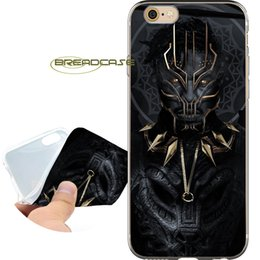 Black Case For Iphone 4s Australia - Black Panther Movie Capa Clear Soft TPU Silicone Phone Cases for iPhone 10 X 7 8 6S 6 Plus 5S 5 SE 5C 4S 4 iPod Touch 6 5 Cover.