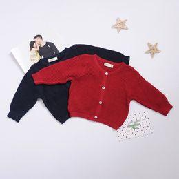 $enCountryForm.capitalKeyWord Australia - Newborn Baby Cardigan Sweater For Boys Girls Autumn Infant Girl Knitted Sweater Clothes Toddler Boy Cotton Cardigan Outerwear