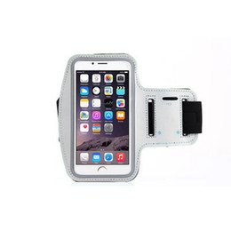 run holder phone 2019 - Waterproof Sports Running Case Armband Running Bag Workout Armband Holder Pounch For iphone 7 7S Plus Samsung Cell Mobil