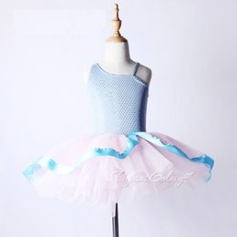 $enCountryForm.capitalKeyWord Australia - Kids Professional Ballet Dress For Girls Adult Tutu Costumes Blue Sequins Ballet Leotard For Women Cute Ballerina Child Clothes