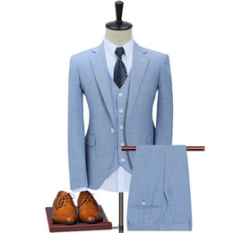 Discount counter button - Special Counter Quality Original Design Man Competitive Products High-end Man's Suit Three-piece