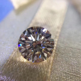 Ingrosso 0.1Ct ~ 8.0Ct (3.0MM ~ 13.0MM) Colore G / H VVS Clarity Brilliant Synthetic Lab Grown Diamond Diamond Moissanite Diamond Test Positivo