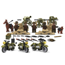 China World War 2 Military Building Blocks Set, WW2 German Army Soldiers Building Bricks Mini Construction Toys 71005 suppliers