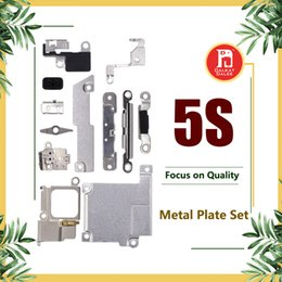 $enCountryForm.capitalKeyWord NZ - For iPhone 5S Full Body Inner Small Holder Bracket Shield Plate For iPhone 5S Metal Iron Body Parts Set Kit Phone Repair Parts