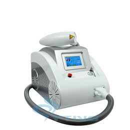 China With Red Infrared aim beem portable Q switched yag laser tattoo removal skin rejuvenation pigment removal spa salon use mahine suppliers