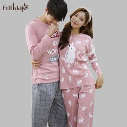 1f1900843a High Quality couple pajama long sleeve women or men s pijamas cotton  sleepwear plus size autumn winter pyjama coton pajamas set