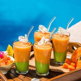 $enCountryForm.capitalKeyWord NZ - Reusable Glass Smoothie Straws Drinking Straws for Milkshakes Frozen Drinks T719