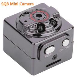 Chinese  SQ8 Mini Car DVR Camera HD 1080P Camera Night Vision Mini Motion Detection Camcorder Class 10 Video Recorder Micro Car Camera manufacturers