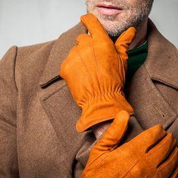 $enCountryForm.capitalKeyWord Canada - 2018 New Genuine Leather Gloves Male Nubuck Cowhide Gloves Fashion Keep Warm High Quality Driving Winter Man Mittens TB34
