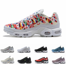 12cc8273755011 2018 New Running Shoes For Men TN Shoes Ultra tns plus NIC air Fashion  Maxes Casual Mens Trainers Sports Sneakers Chausseures Size 12