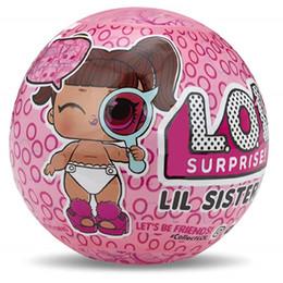 Новый Series4 Lil сестры мяч глаз шпион серии, 10 см мяч, фигурки коллекция кукла, игрушки для девочек Детские игрушки рождественский подарок zx003