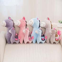 $enCountryForm.capitalKeyWord NZ - Dropshipping 38cm 60cm Stuffed Horse Plush Toys Cartoon Animals Creative Presents for Kids Loved Gifts for Children LA037