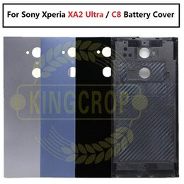 sony xperia battery cover case Australia - For Sony Xperia XA2 Ultra back housing battery cover case Replacement H4233 H4213 H3213 For SONY C8 Rear housing