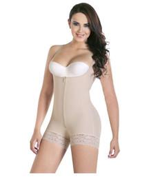 39de78b8ff7fe Women slim Bodysuit Butt Lifter Shapewear With Zipper Full Body Waist  Trainer Underwear NRSS001
