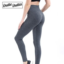 Seamless Yoga Pants NZ - Seamless Leggings Grey Yoga Pants Push Up Elastic Women Fitness Sport Tights Gym Leggings High Waist For Sports And Fitness