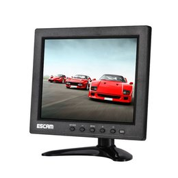 Chinese  10 Inch 4 Split TFT LCD Monitor VGA HDMI AV BNC USB Input For CCTV Camera ESCAM T10 manufacturers