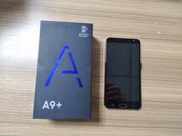 free video phone 2018 - 6.0 inch Full Screen Goophone A9 Plus Fingerprint Android 7.1 1GB 8GB Show fake 4GB RAM 256GB ROM Fake 4G LTE Unlocked C