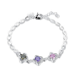 $enCountryForm.capitalKeyWord NZ - New arrival!Fancy lady's fashion chain 925 silver bracelet JSPB608;low price girl women sterling silver plated Charm Bracelets