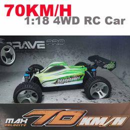 1:18 A959 / A979 versión de actualización A959-B / A979-B 70 km / h 2.4G RC coche 4WD Radio Control Camión RC Buggy Alta velocidad off-road