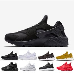 huaraches for 2019 - Hot Sale Huarache Running Shoes For Men Women Rose Gold High Quality Sneakers Triple Huaraches Trainers Sport Shoes disc
