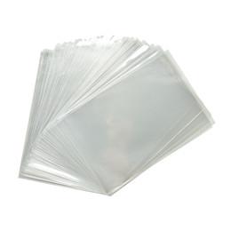 100pcs lot Clear Cello Bags Party Gift Chocolate Lollipop Wedding Favor Candy Cellophane Bag