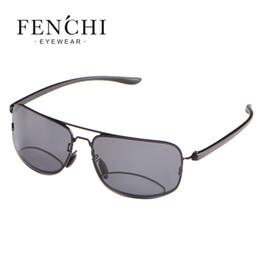 1a5c2b9822 FENCHI 2017 Bifocal Reading Glasses Unisex Diopter Glasses Male Polarized  Sunglasses Presbyopic Eyeglasses +1.5+2.0+2.5+3.0