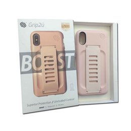 Wholesale boost phones online shopping - Grip2ü Case for iPhone X Protective Phone Belt Cover for iPhone X Grip2u Boost Case for iPhone X only