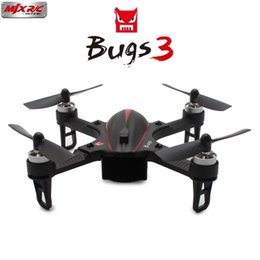mjx helicopter camera UK - Mjx B3 Bugs 3 Brushless RC Drone 175mm Mini Helicopter Quadcopter RTF Motor 6-axis Gyro Camera Mount for Gopro Xiaomi yi Camera
